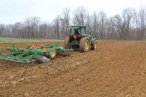 orba a příprava pozemku